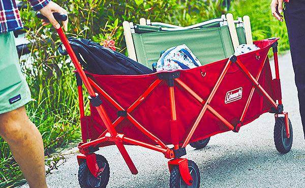 キャンプサイトへの荷物の搬入の必需品!アウトドアワゴン・キャリーカートのおすすめ8選