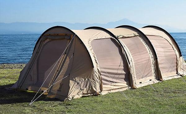 キャンパーの間で大流行中!トンネル型テントの選び方とおすすめ10選